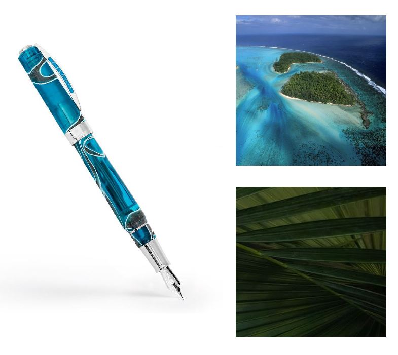Visconti OPERA MASTER POLYNESIA Limited Edition - M