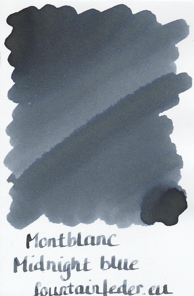 Montblanc Midnight Blue Ink Sample 2ml