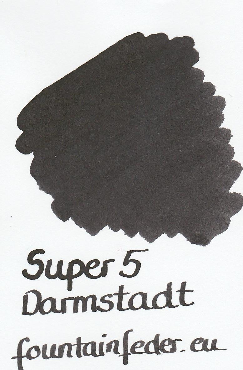 Super5 Darmstadt Ink Sample 2ml