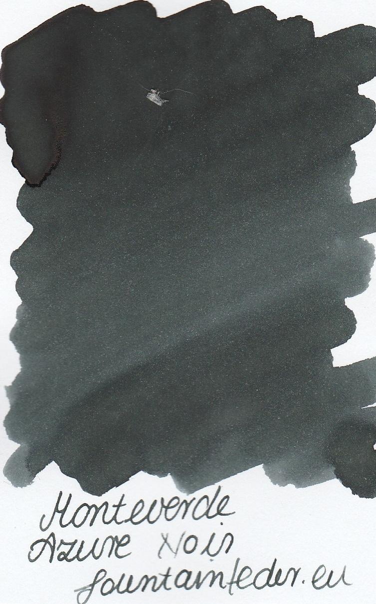 Monteverde Azure Noir Portable Ink Capsule 50ml