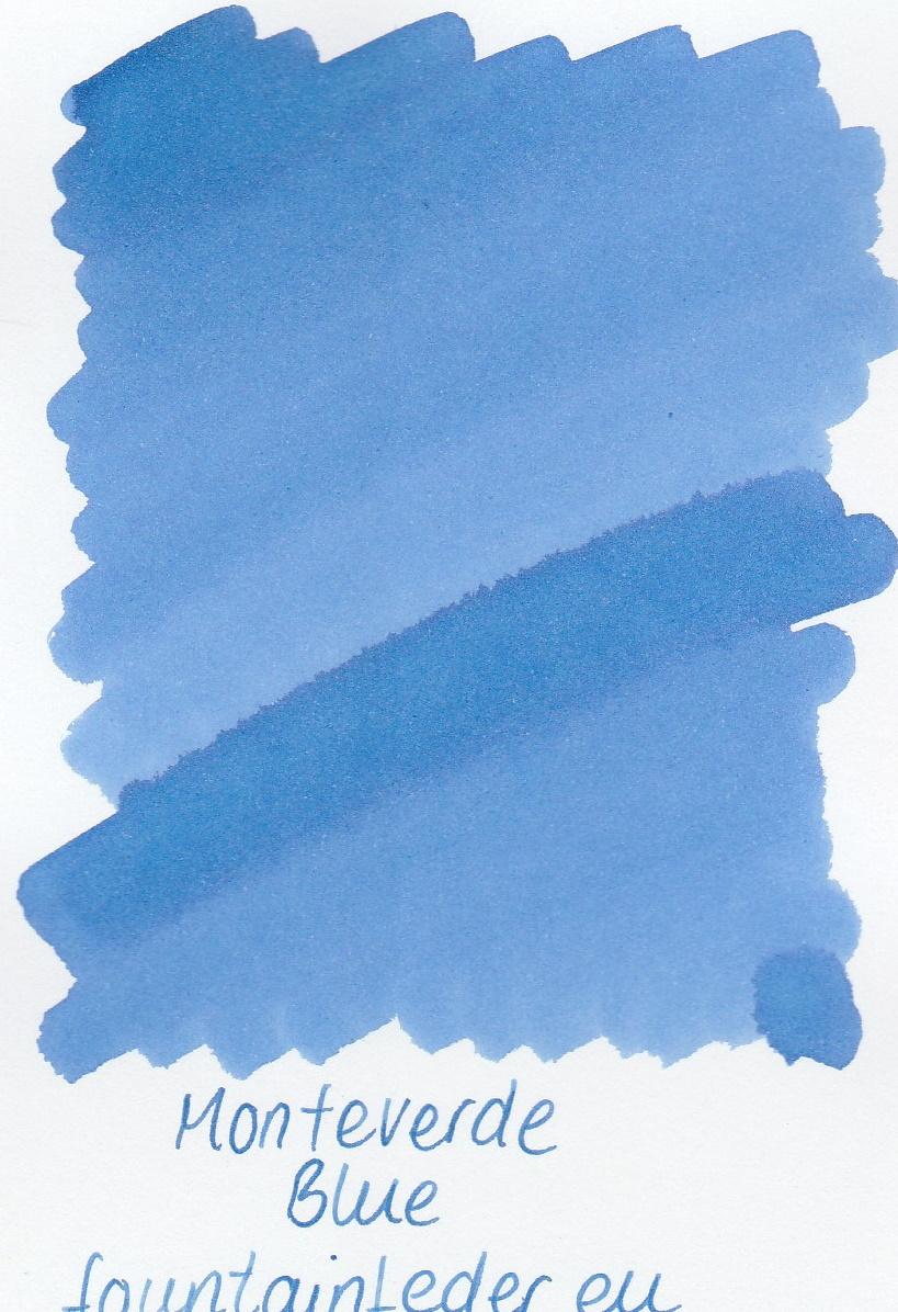 Monteverde  Blue  Ink Sample 2ml