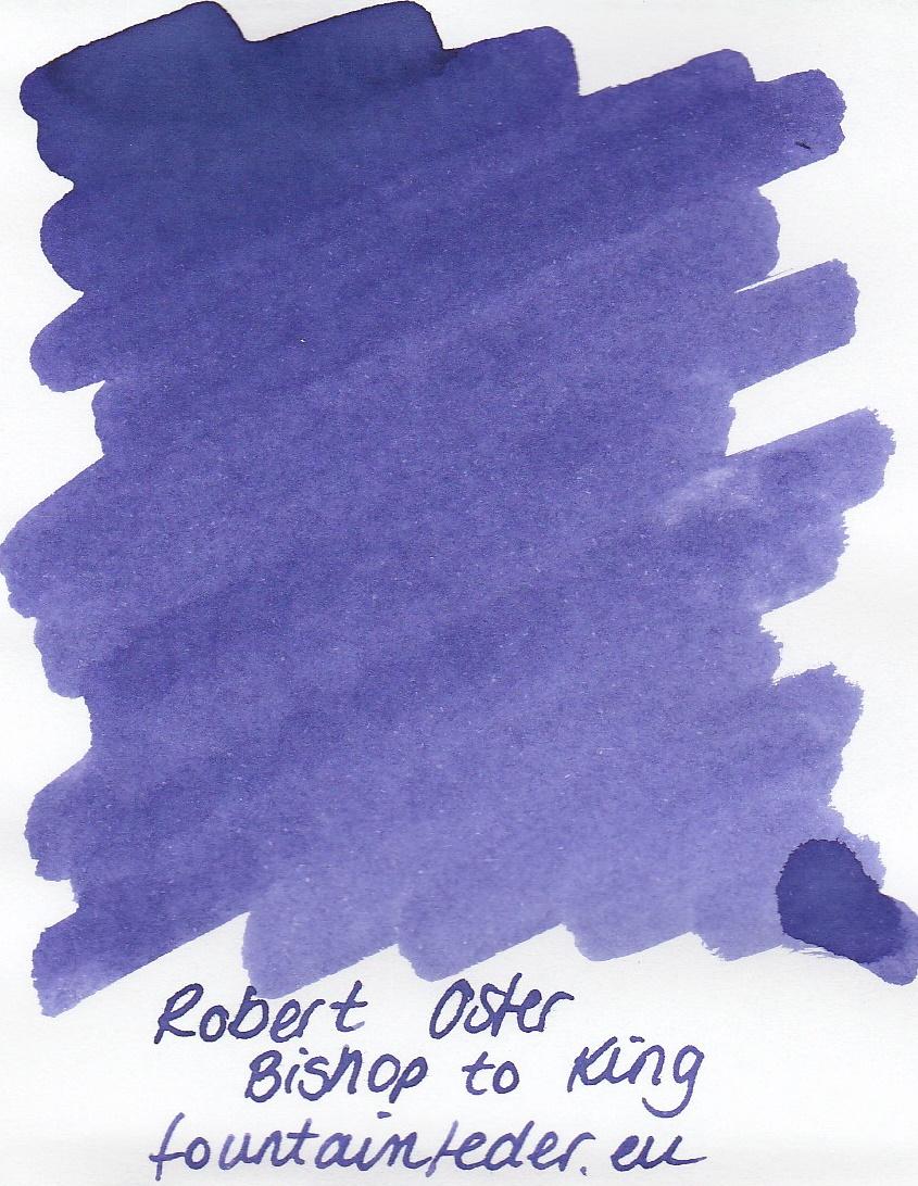 Robert Oster - Bishop to King Ink Sample 2ml