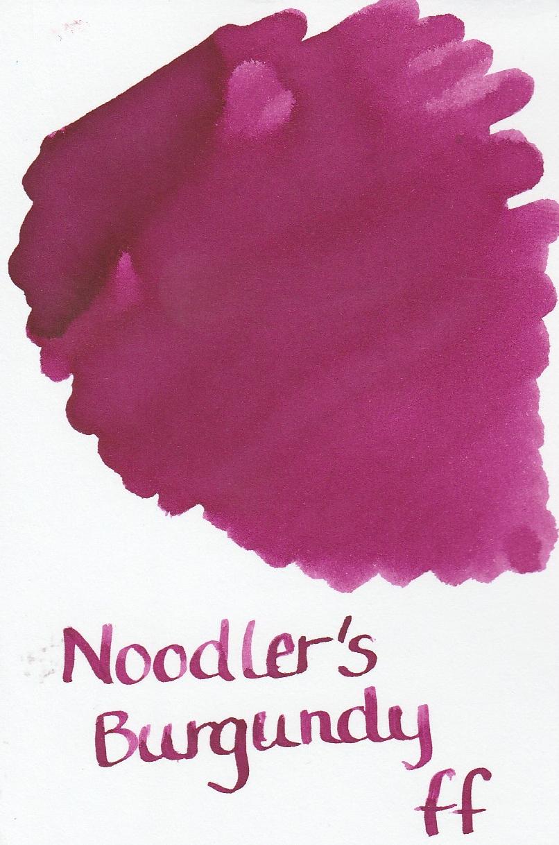 Noodler`s Burgundy Ink Sample 2ml