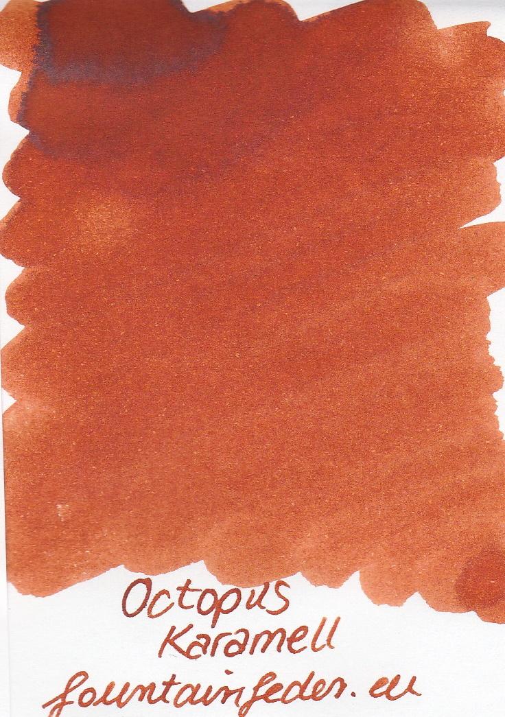Octopus Fluids Karamell Ink Sample 2ml