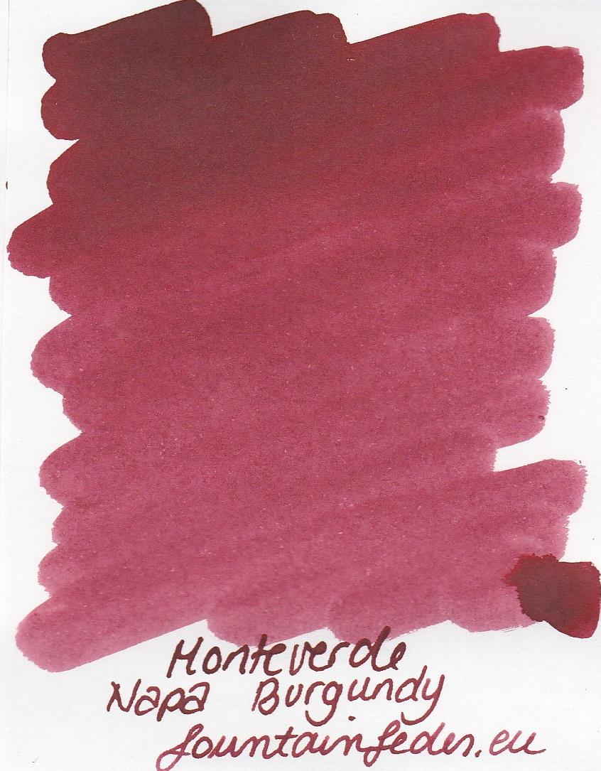 Monteverde  Napa Burgundy Ink Sample 2ml