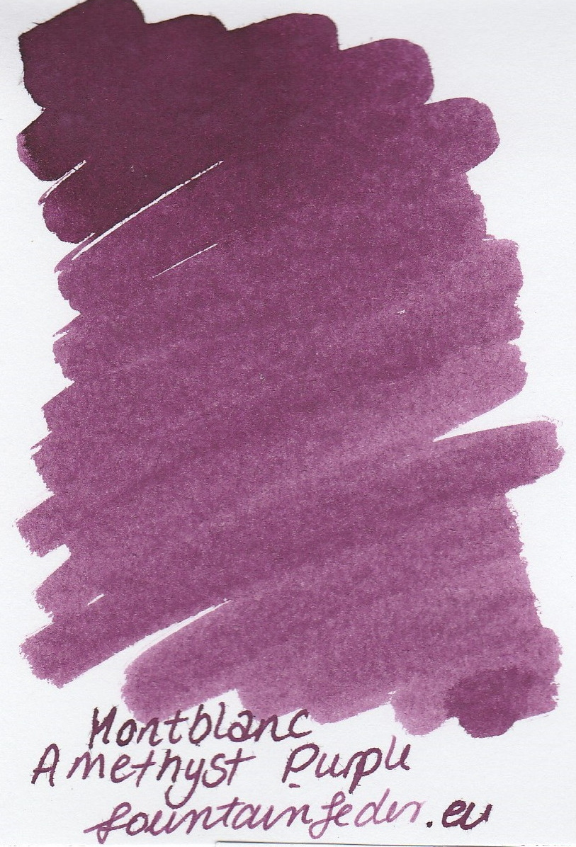 Montblanc Amethyst Purple Ink Sample 2ml