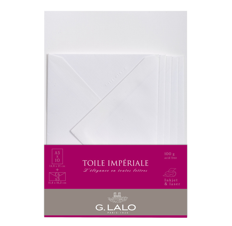 G. Lalo Stationery Set - Toile Imperial A5