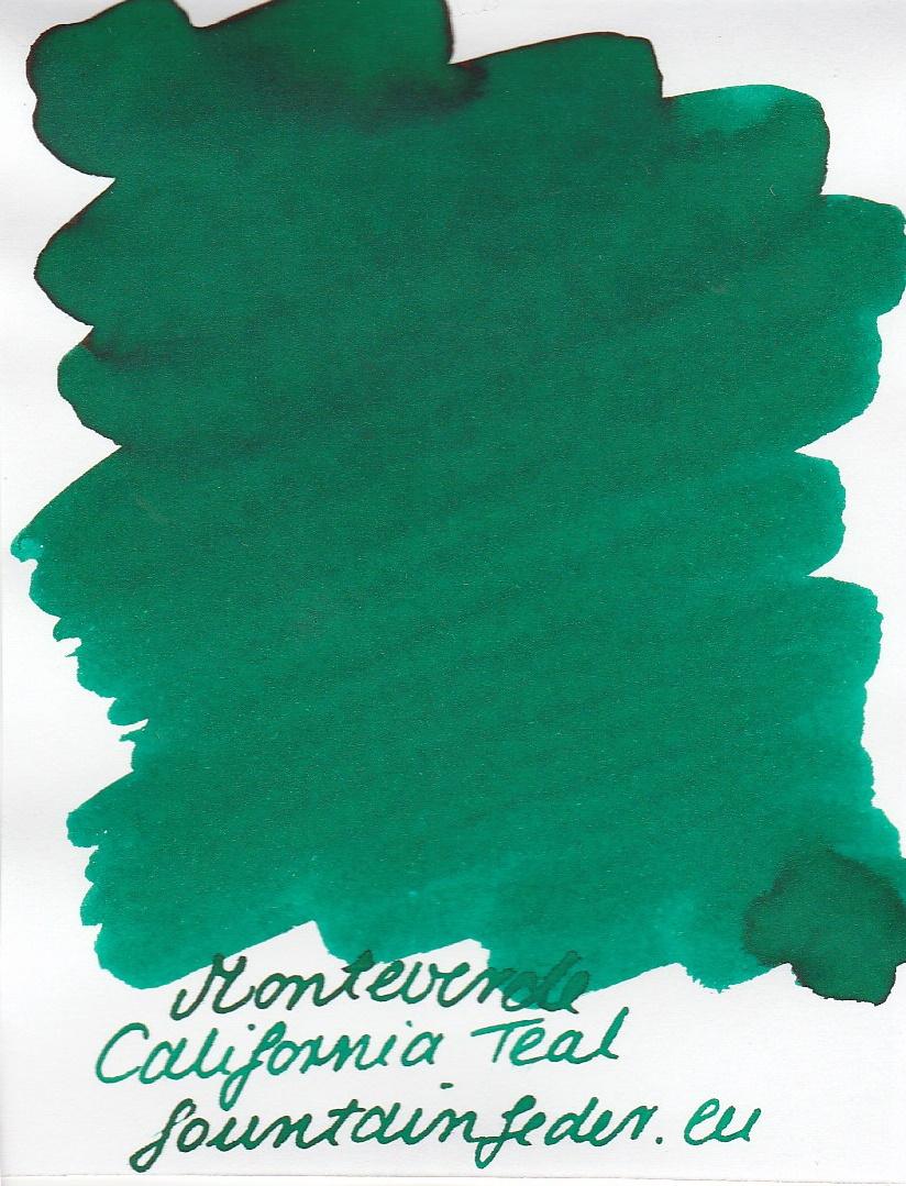 Monteverde  California Teal Ink Sample 2ml