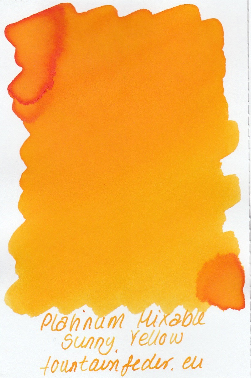 Platinum Mixable - Sunny Yellow Ink Sample 2ml