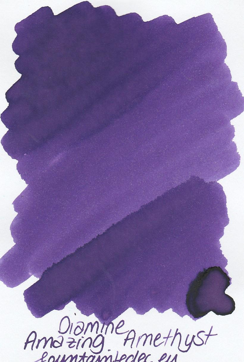 Diamine Amazing Amethyst Ink Sample 2ml