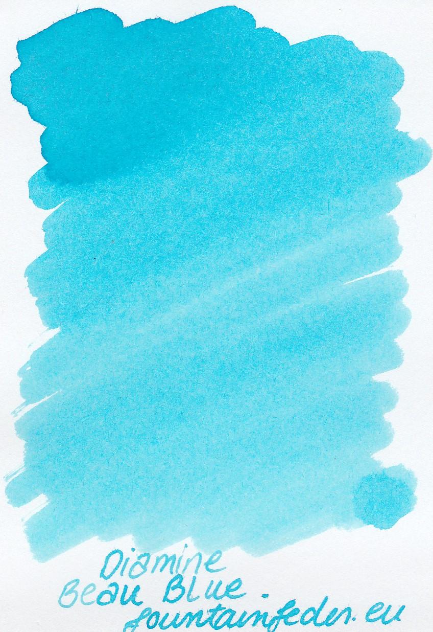 Diamine Beau Blue Ink Sample 2ml