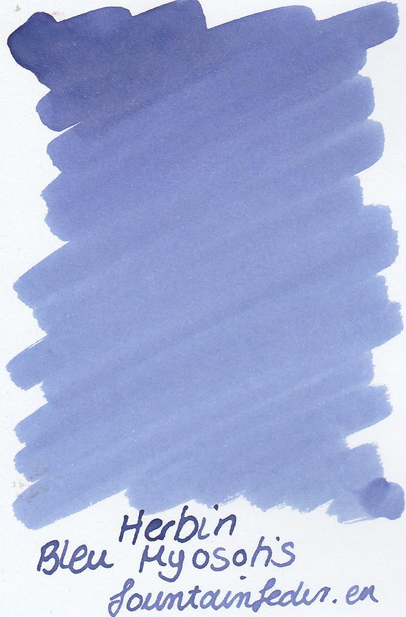 Herbin Bleu Myosotis Ink Sample 2ml