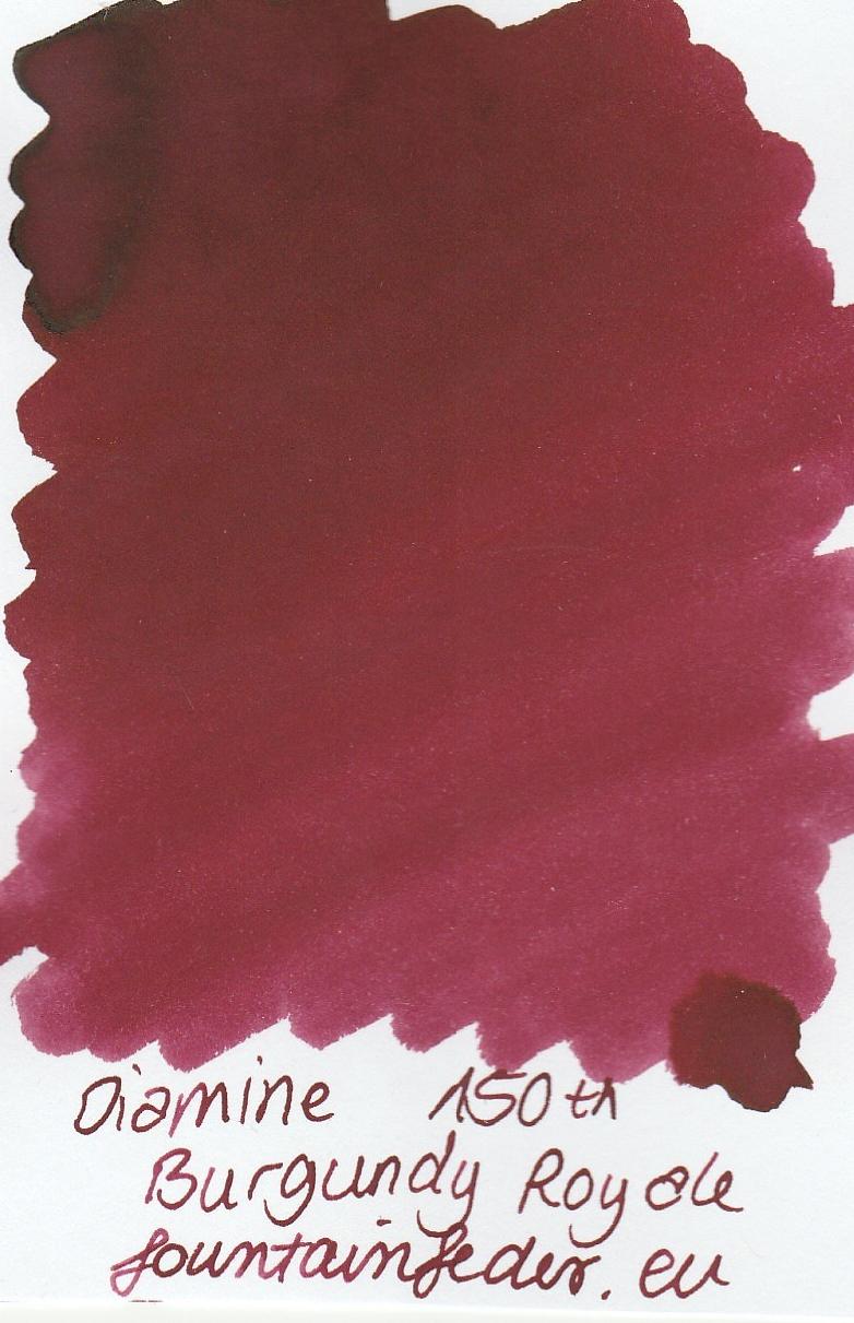 Diamine Burgundy Royal Ink Sample 2ml