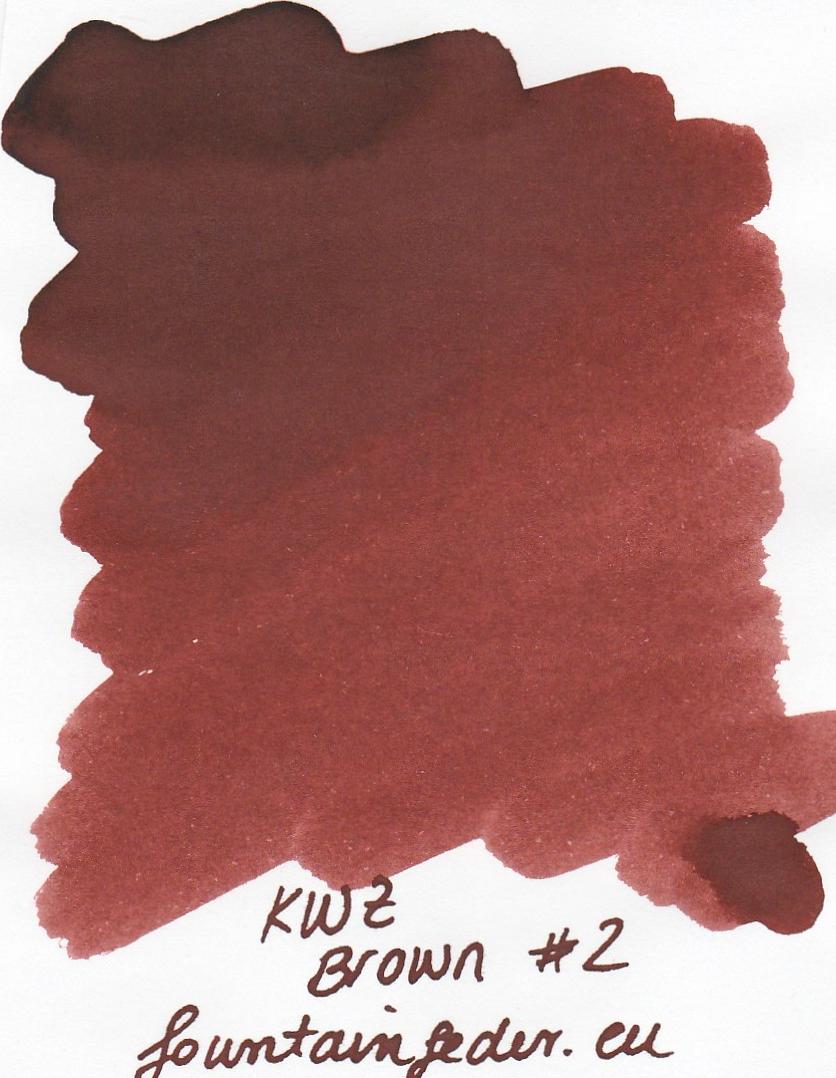KWZ Brown #2 Ink Sample 2ml