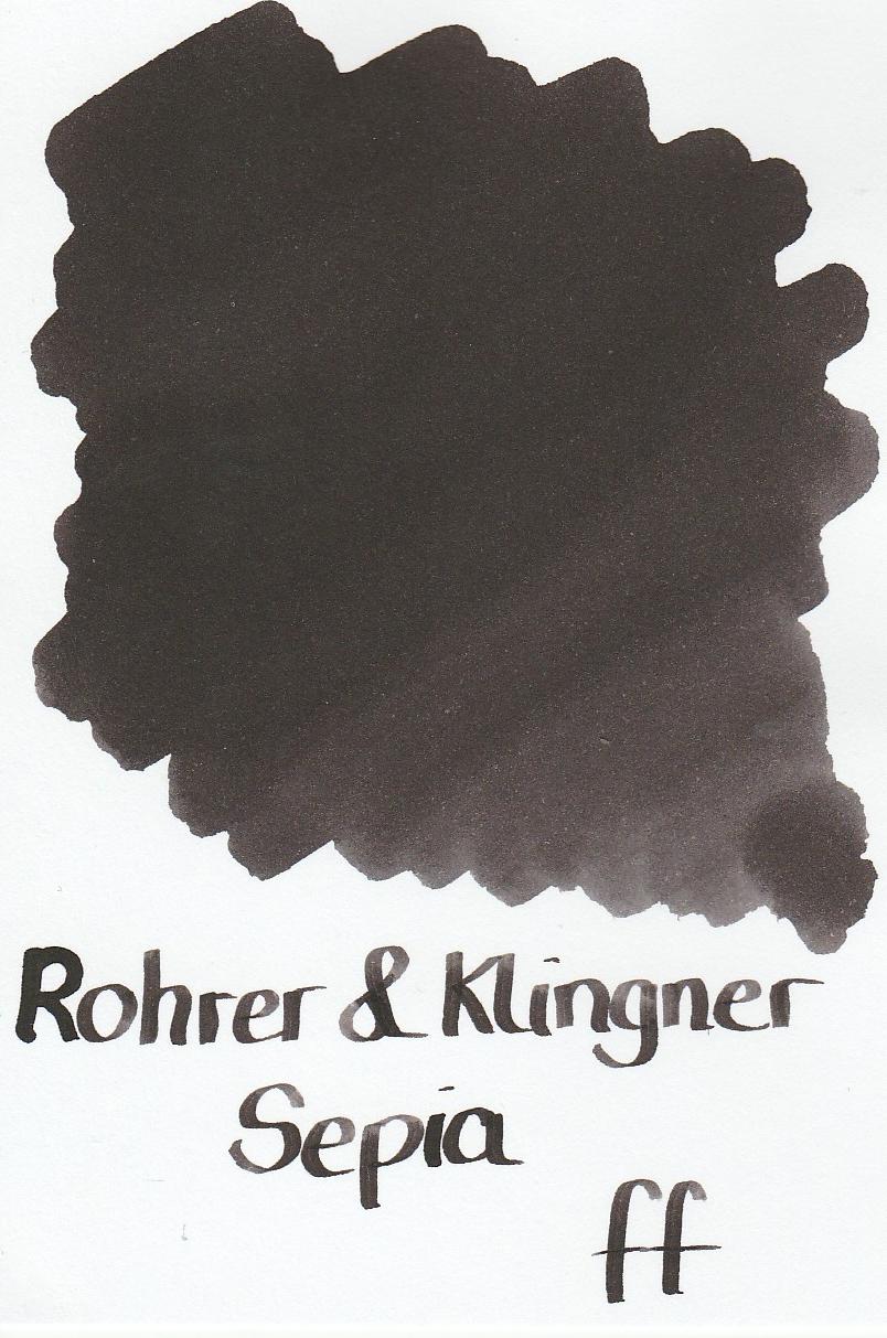 Rohrer & Klingner Sepia Ink Sample 2ml