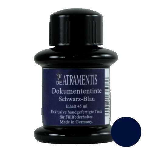 DeAtramentis Document Ink Blue Black 45ml