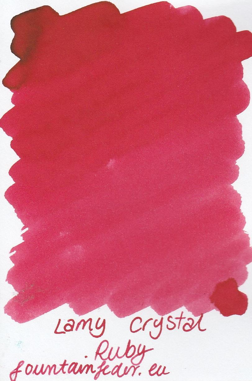 Lamy Crystal Ruby Ink Sample 2ml