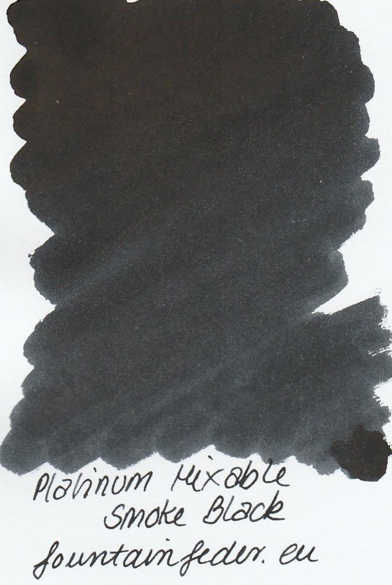 Platinum Mixable - Smoke Black Ink Sample 2ml