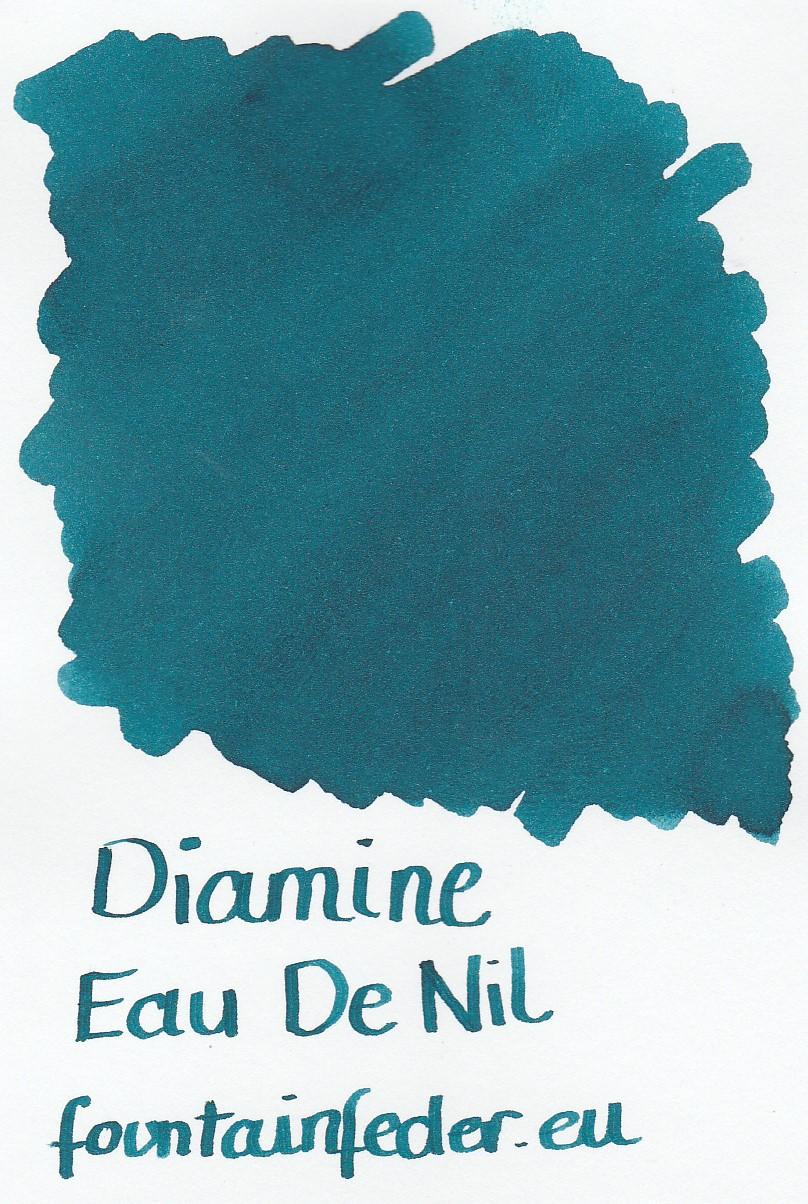 Diamine Eau De Nil Ink Sample 2ml
