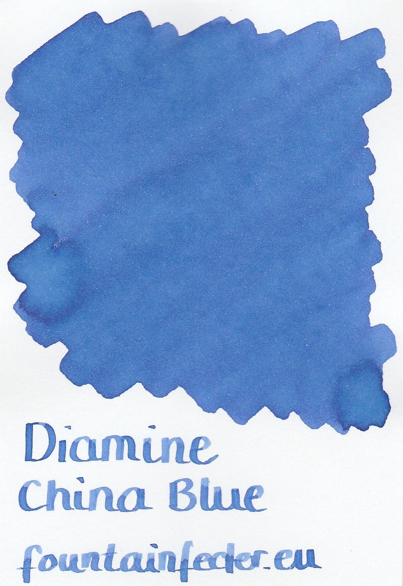 Diamine China Blue Ink Sample 2ml