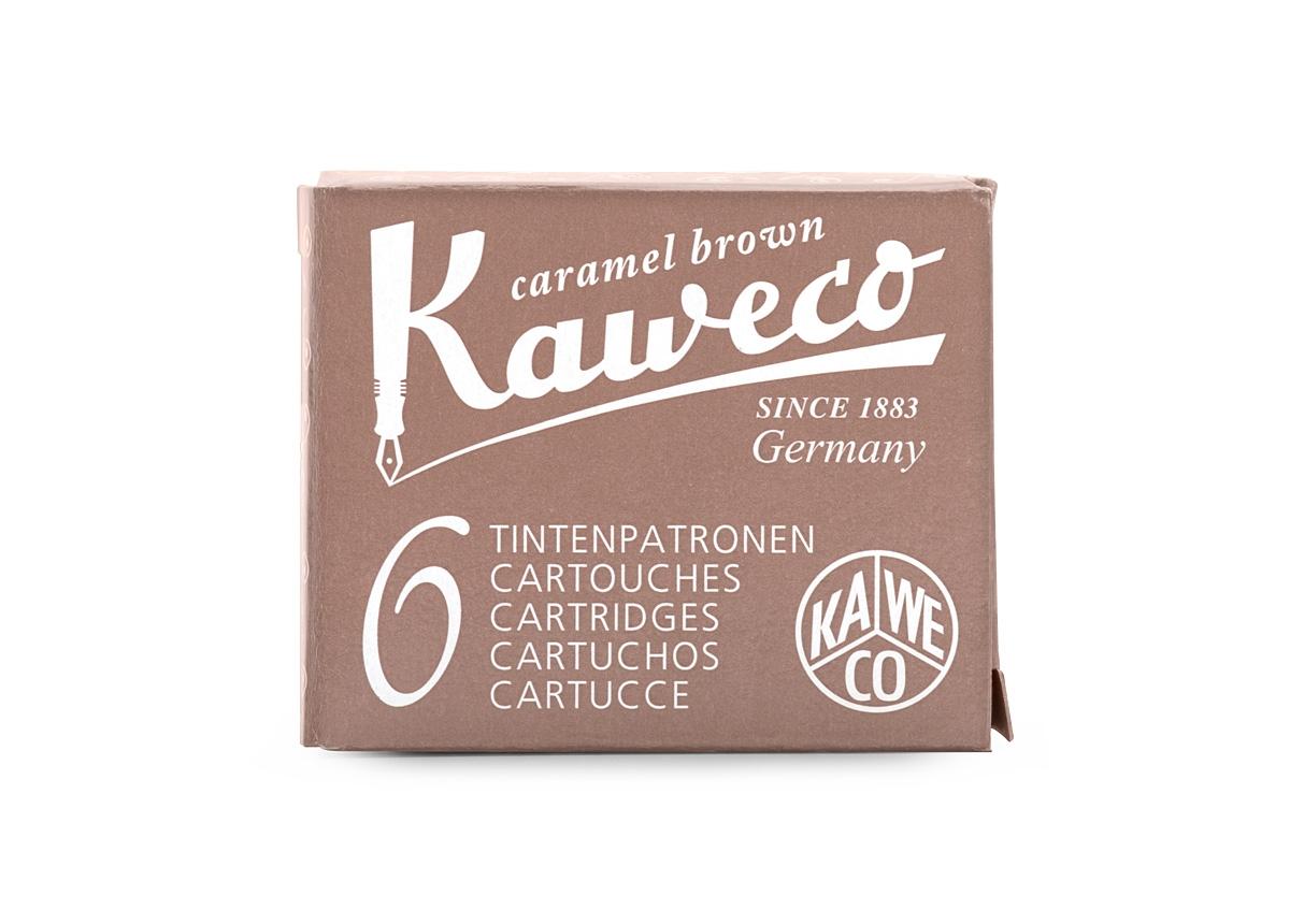 Kaweco Caramel Brown Cartridges