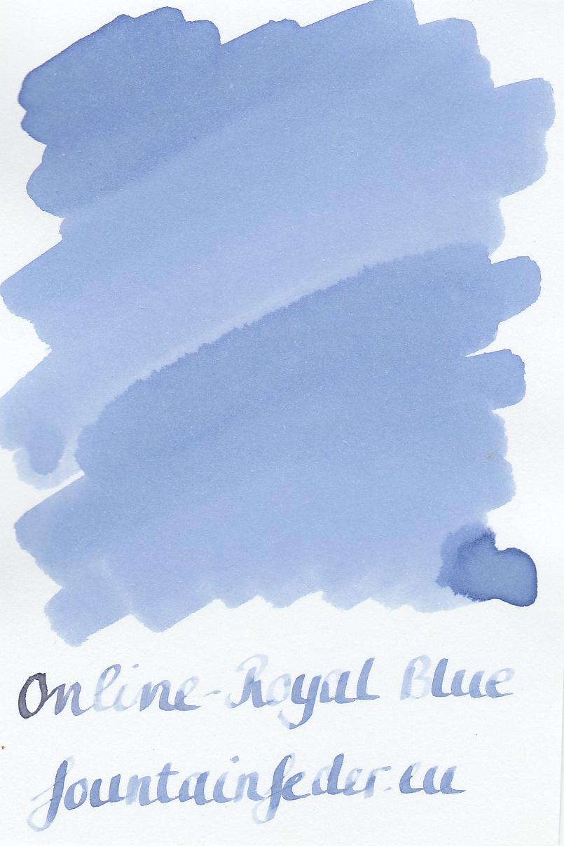 Online Royal Blue Ink Sample 2ml