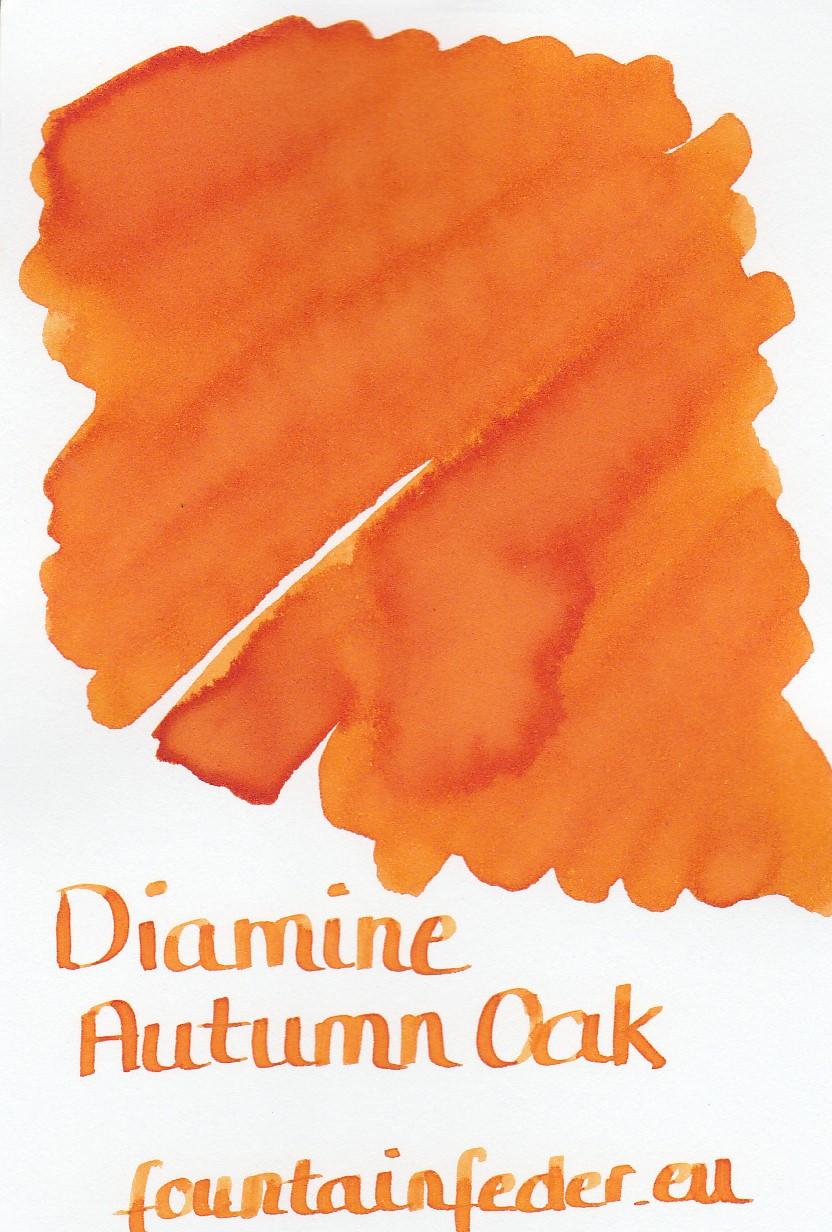 Diamine Autumn Oak Ink Sample 2ml