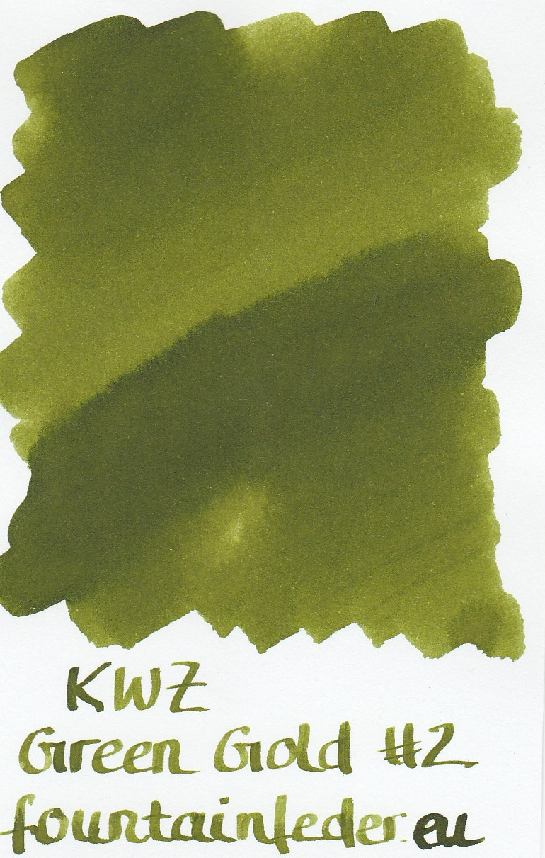KWZ Green Gold 2 Ink Sample 2ml