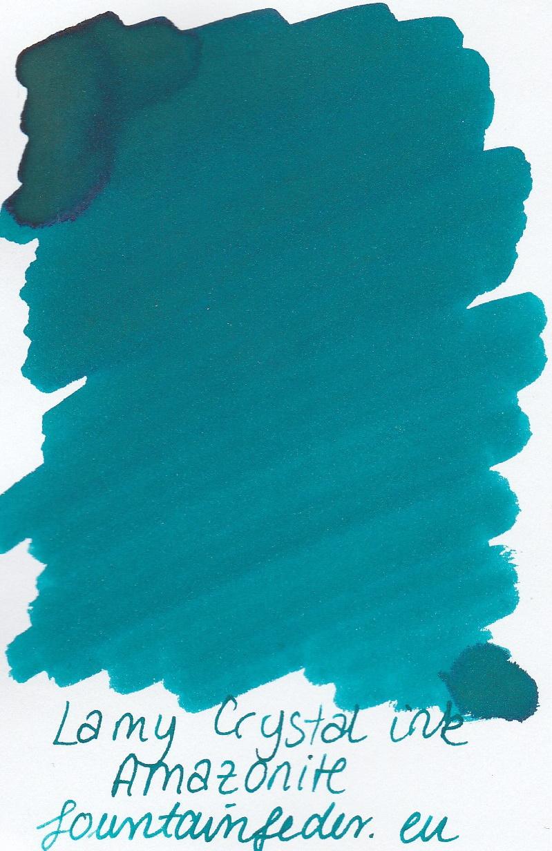 Lamy Crystal Amazonite Ink Sample 2ml