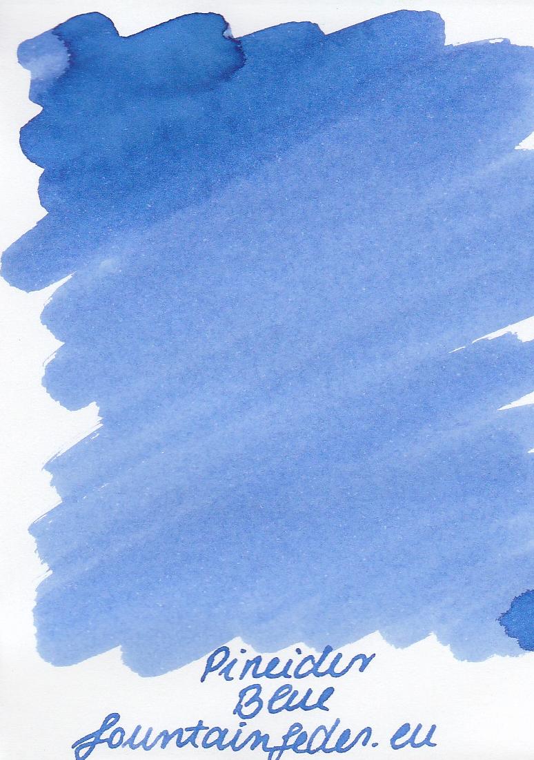 Pineider Blue Ink Sample 2ml