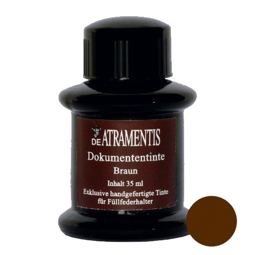 DeAtramentis Document Ink Brown 45ml
