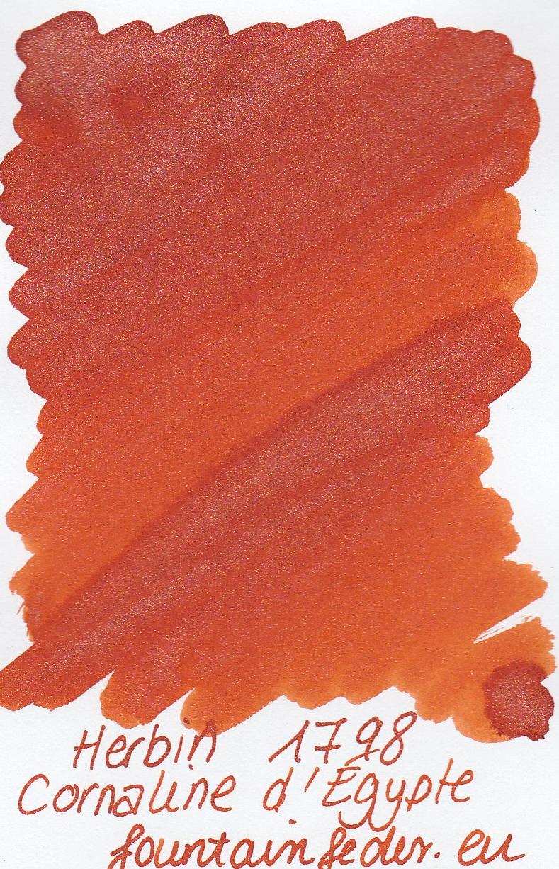 Herbin 1798 Cornaline d'Ègypte Ink Sample 2ml