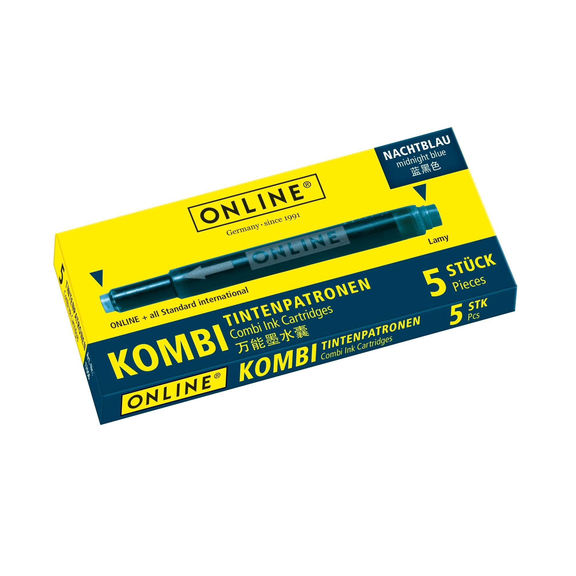 Online Kombi Cartridges
