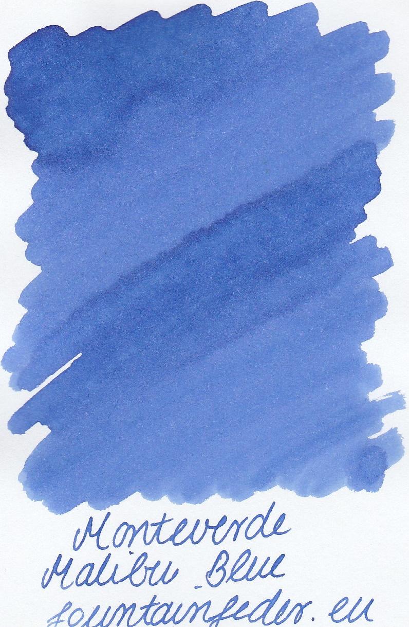 Monteverde  Malibu Blue Ink Sample 2ml