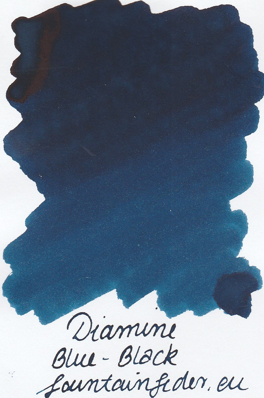 Diamine Blue Black Ink Sample 2ml
