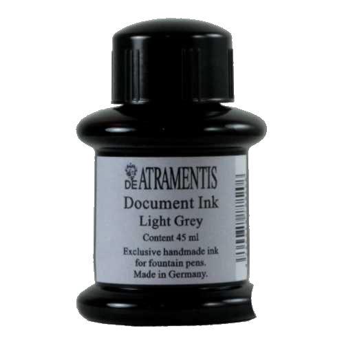 DeAtramentis Document Ink Light Grey 45ml