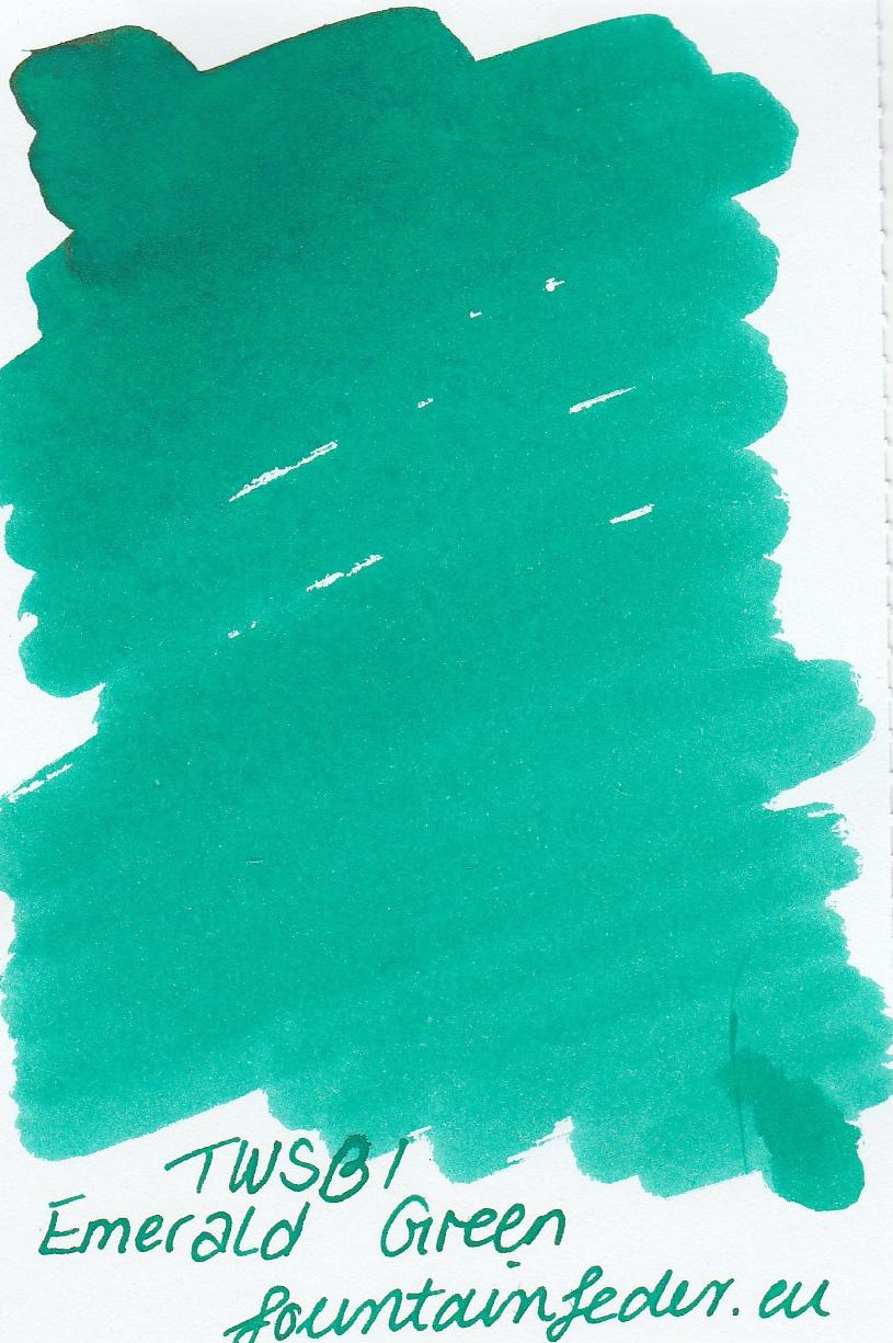 TWSBI Emerald Green Ink Sample 2ml