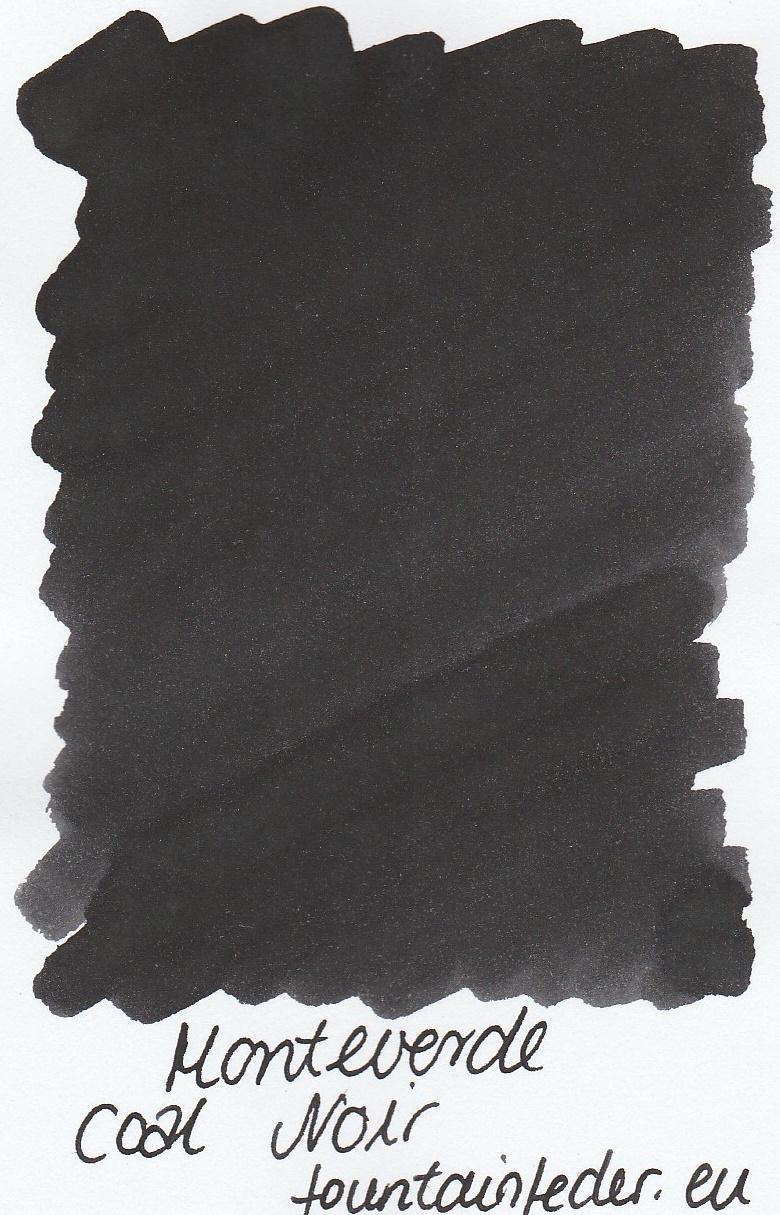 Monteverde Coal Noir Portable Ink Capsule 50ml
