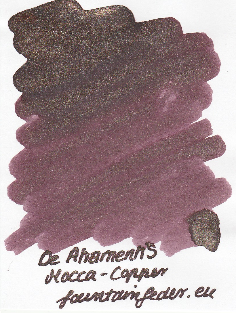 DeAtramentis Mocca - Copper Sample 2ml