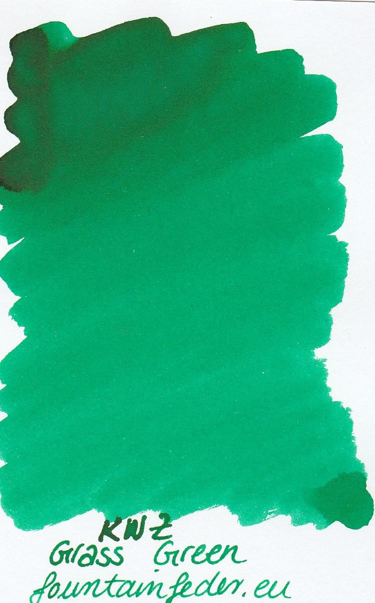 KWZ Grass Green Ink Sample 2ml