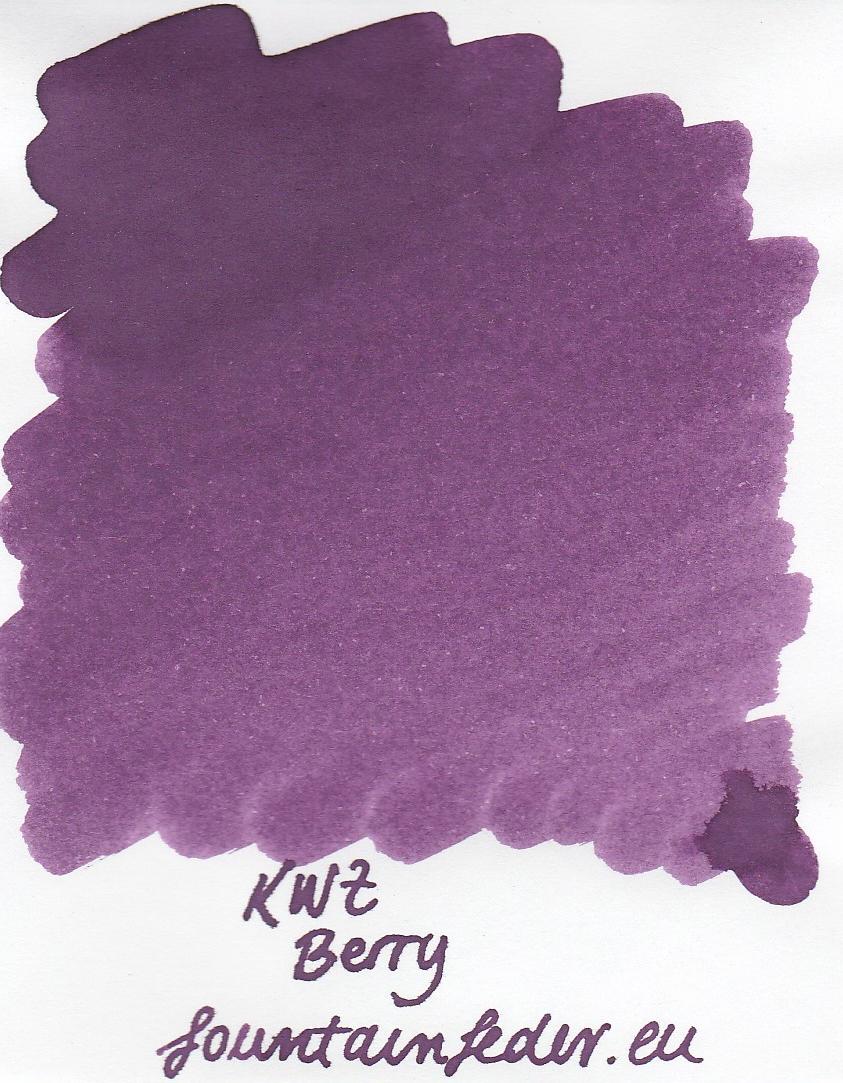 KWZ Berry Ink Sample 2ml