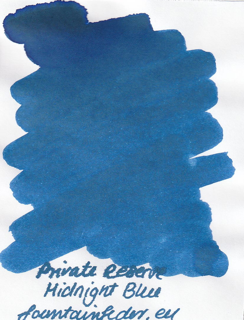 Private Reserve - Midnight Blue Ink Sample 2ml