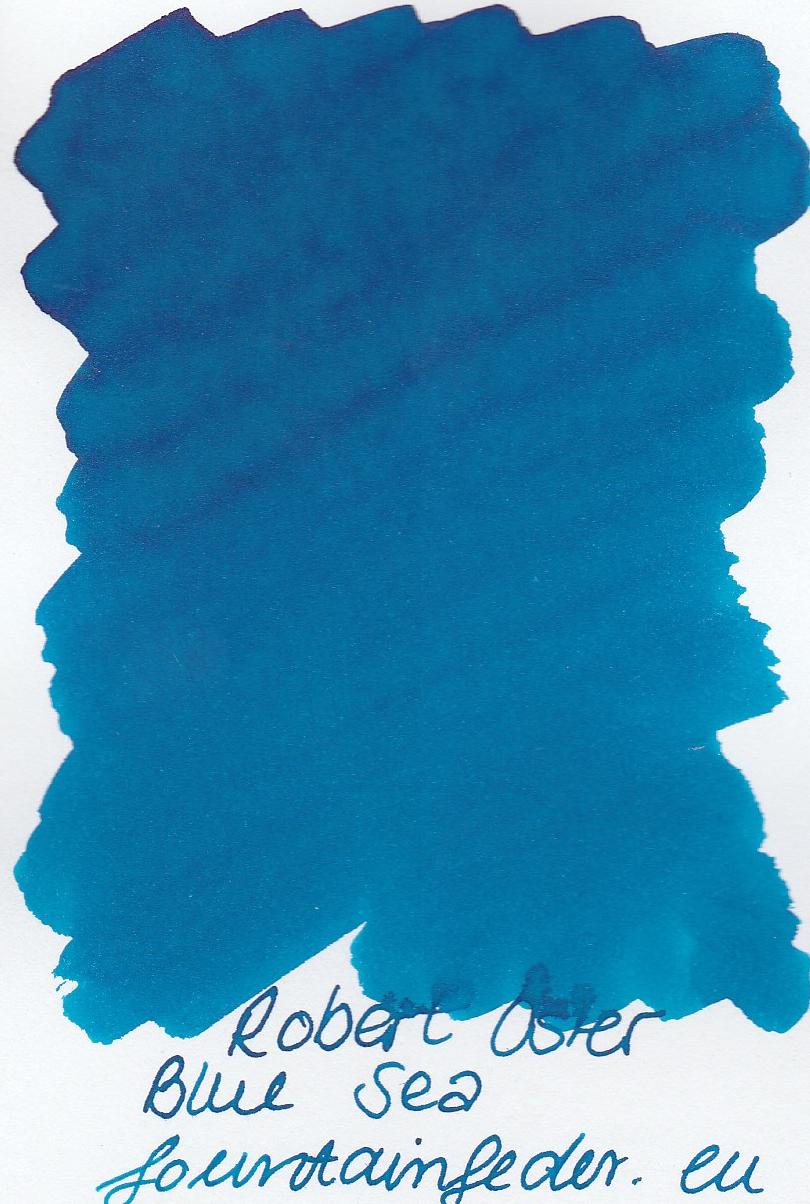 Robert Oster - Blue Sea Ink Sample 2ml