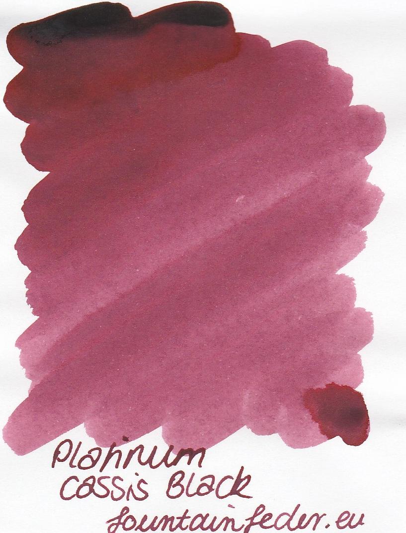 Platinum Cassis Black Ink Sample 2ml