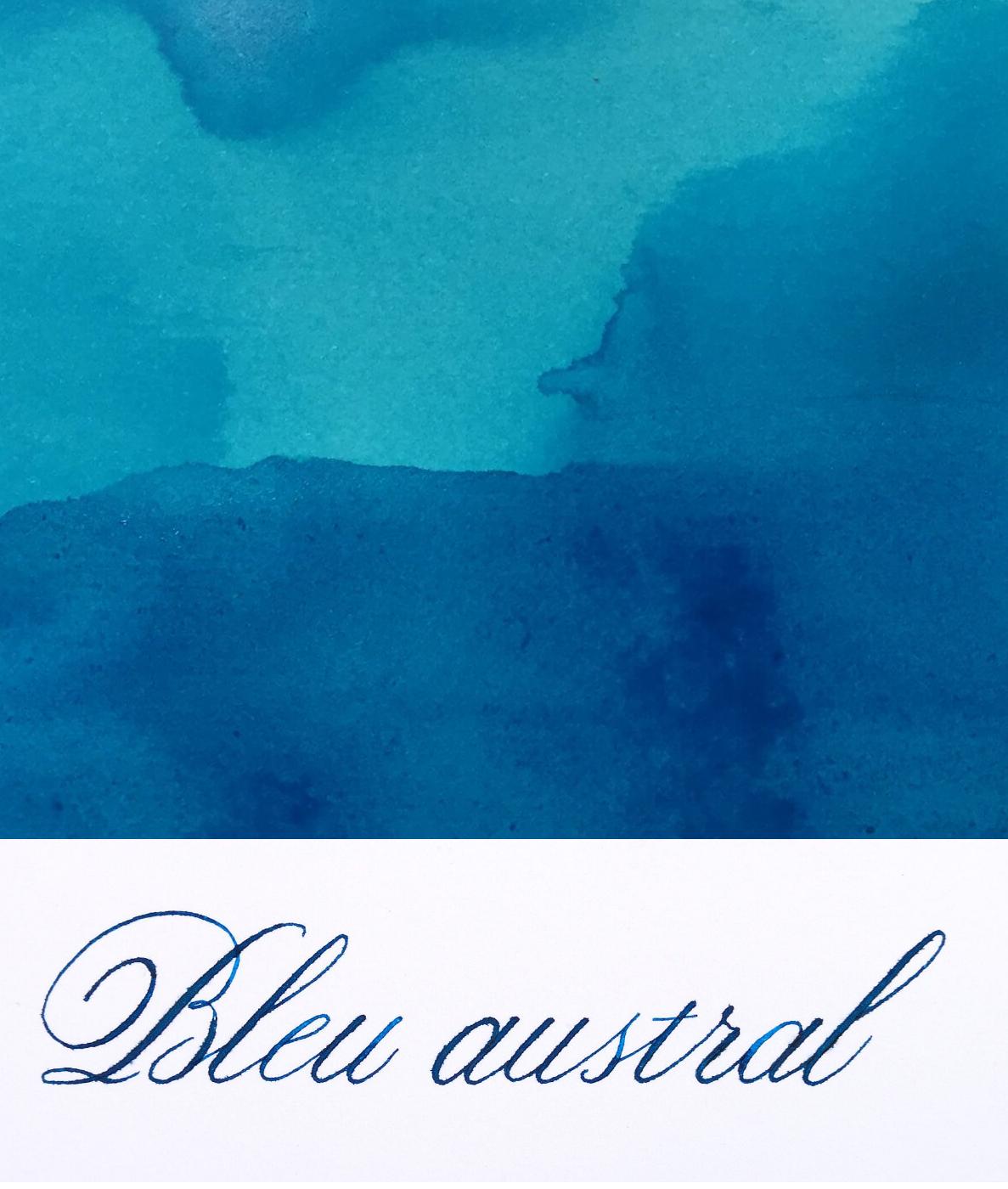 Jacques Herbin  - Bleu Austral Ink Sample 2ml