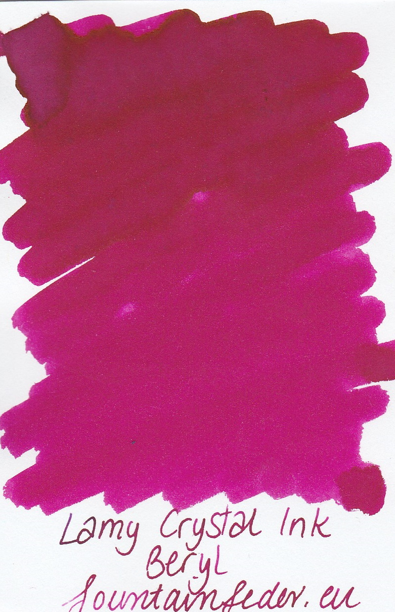 Lamy Crystal Beryl Ink Sample 2ml