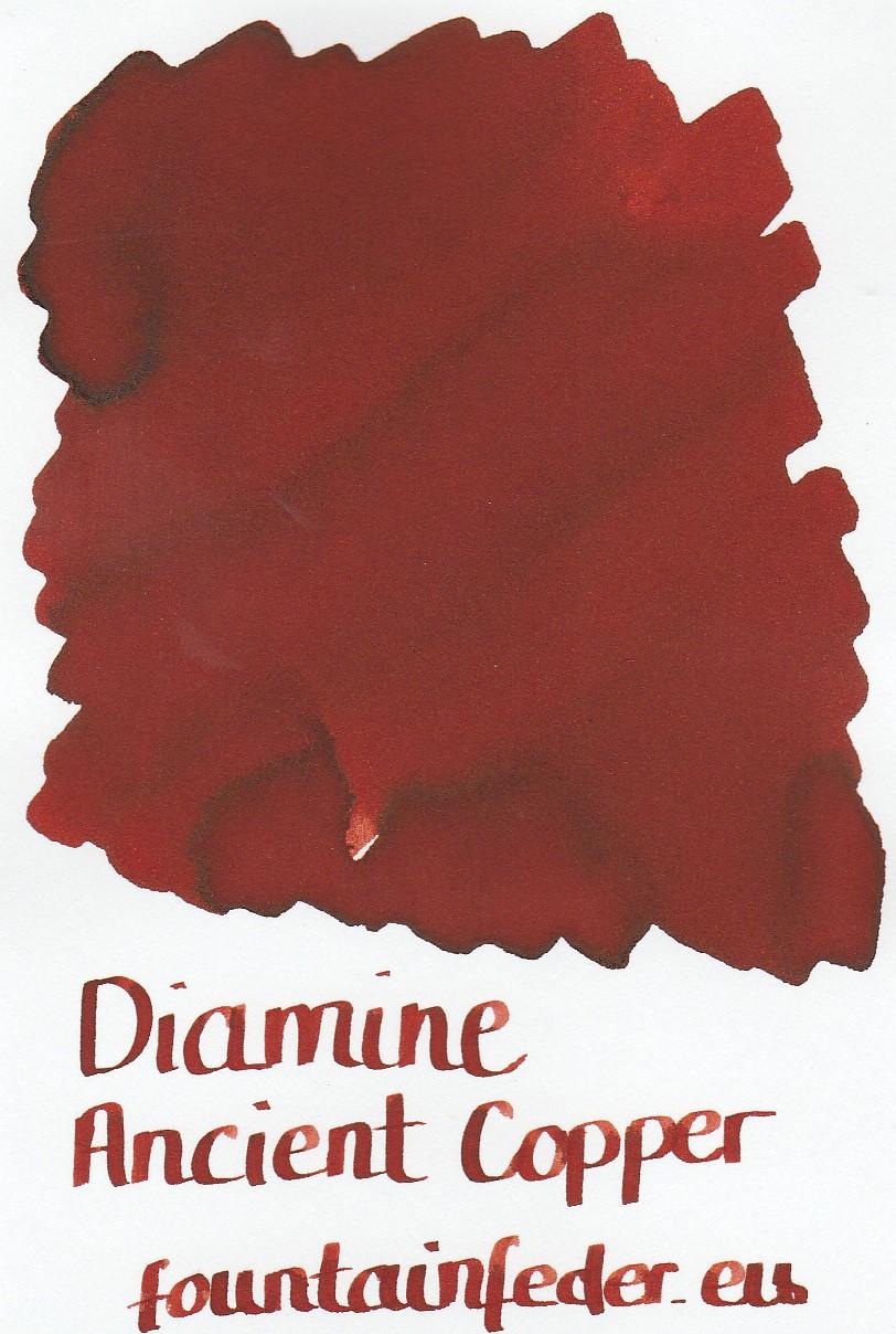 Diamine Ancient Copper Ink Sample 2ml