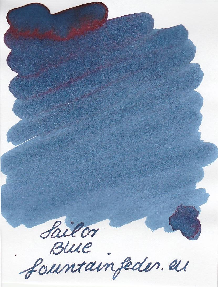Sailor Basic Blue Ink Sample 2ml
