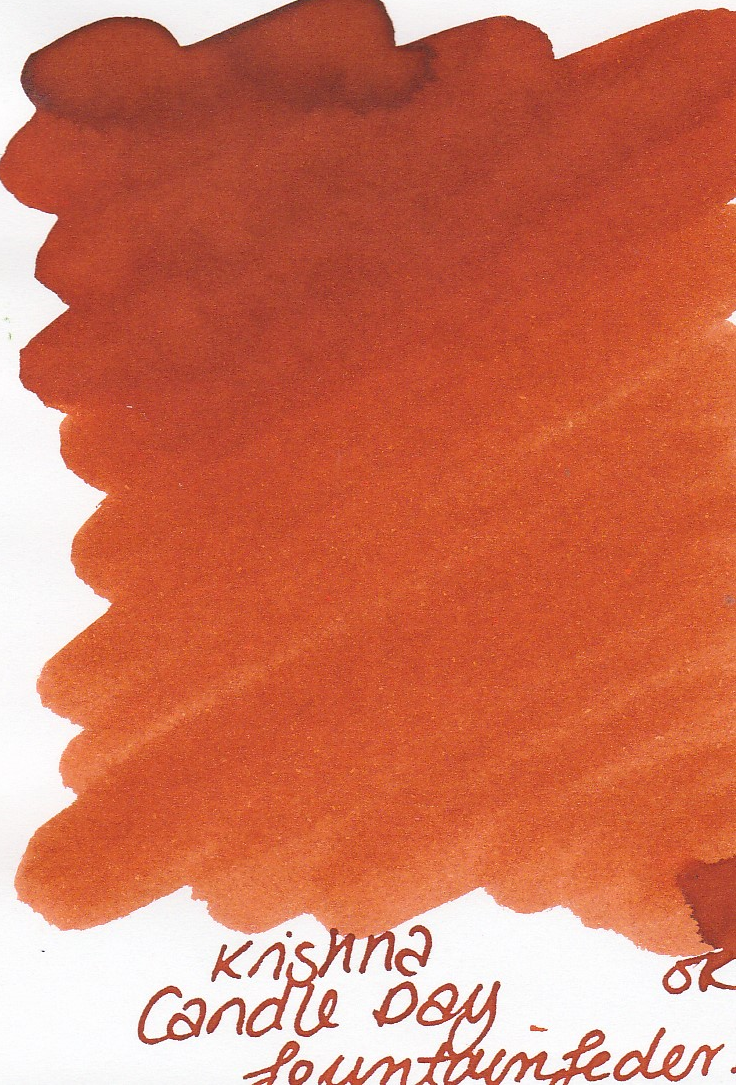 Krishna SR Candle Day Ink Sample 2ml