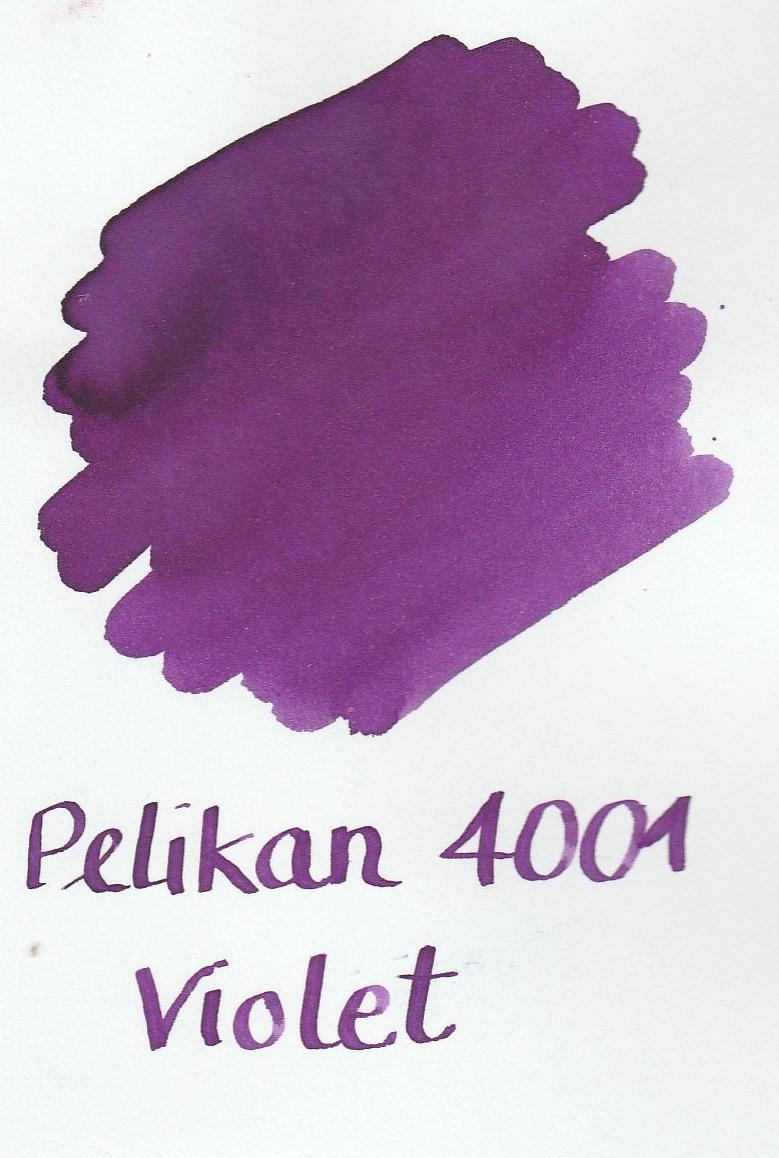 Pelikan 4001 Violet Ink Sample 2ml